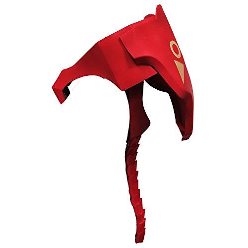 Marrol Zero Two Darling in The FRANXX Scapula Armor Back Barrel Spine EVA Handmade Prop Halloween Cosplay Red]()