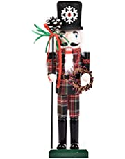 24 Styles Nutcracker Soldier - 36cm Nutcracker Figure Wooden Ornaments for The Home - King, Soldier, Cook, Cowboy Nutcracker Christmas Party Decorations - New Year Gifts for Children