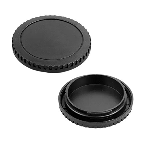 UTL for Canon EOS Camera Body Cover + Lens Rear Cover Cap for Canon EOS Mount EF 5D II III 7D 70D 700D 500D 550D 600D 1000D