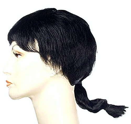 Olive Oil Wig for Women Black Olive Oyl Costume Wig One Size Fits All (Olive Oyl Fancy Dress)