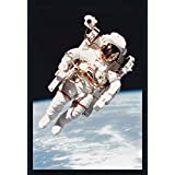 ArtParisienne Astronaut Bruce McCandless and The MMU 1984 STS 41-B NASA 24x36-inch Wall Decal