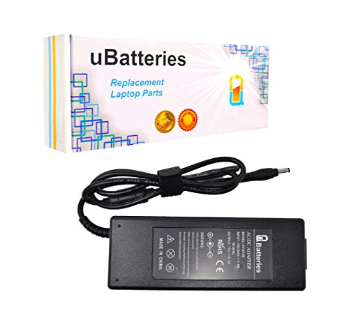 UBatteries Compatible 19V 120W AC Adapter Charger Replacement for Toshiba Satellite P500 P505 P75 P755 P775 P845 P845T P850 P855 P870 P875 S55 S70 S70T S75 S75D S75T S850 S870 S875 S875D Series