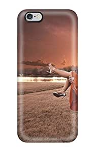 Hot Tpye Beautiful Sweet Kissing Couple Case Cover For Iphone 6 Plus