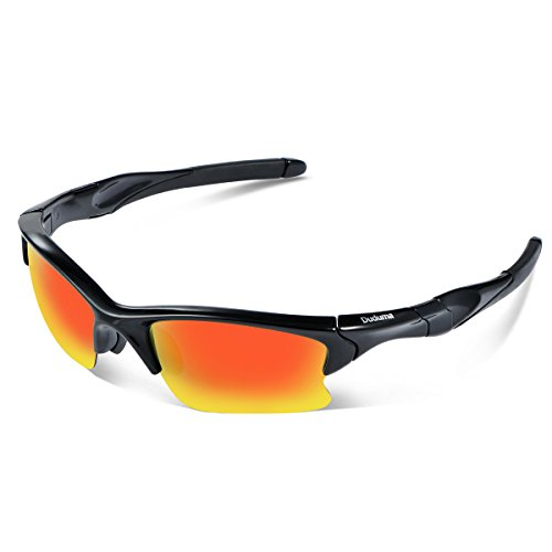 Duduma Polarized Sports Sunglasses for Men Women Baseball Fishing Golf Running Cycling Driving Softball Hiking Unbreakable Shades - Golf Polarized Sunglasses