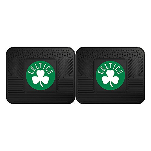 FANMATS 12433 NBA - Boston Celtics Utility Mat - 2 Piece ()