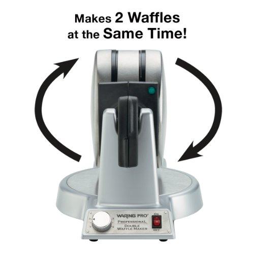 waring pro double waffle maker user manual