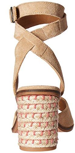 Lucky Brand Women's LK-Pernila Heeled Sandal Travertine 4UrMp8P7Iy
