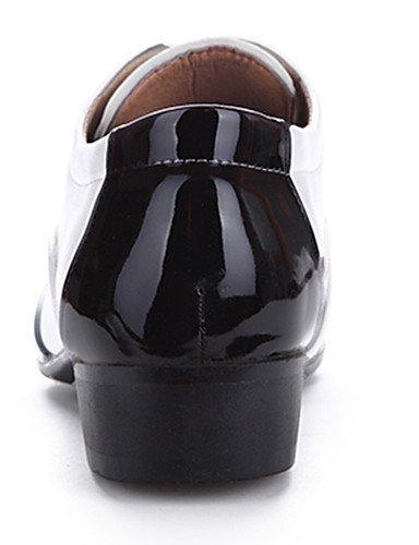 Ei&iLI Zapatos de Hombre Oxfords Oficina y Trabajo / Casual / Fiesta y Noche Cuero Sintético Blanco , black-us7.5 / eu39 / uk6.5 / cn40 , black-us7.5 / eu39 / uk6.5 / cn40 black-us7.5 / eu39 / uk6.5 / cn40