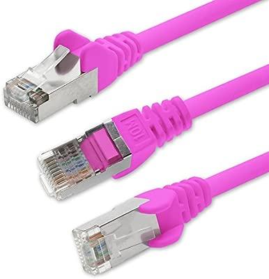 1attack Cable Ethernet Rj45 Cat 5 15m Color Rosa
