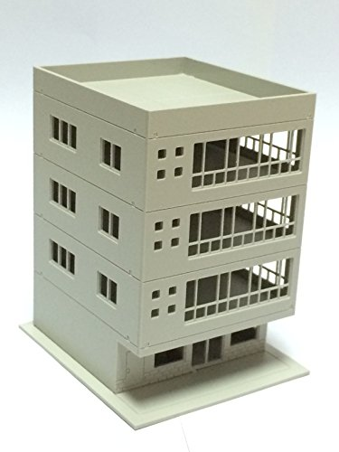 Outland Models Railway Modern 4-Story Office Building for sale  Delivered anywhere in USA