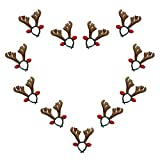 Best unknown Halloween Costumes - Fellibay Reindeer Antlers Headband Halloween Headband Costume Antlers Review