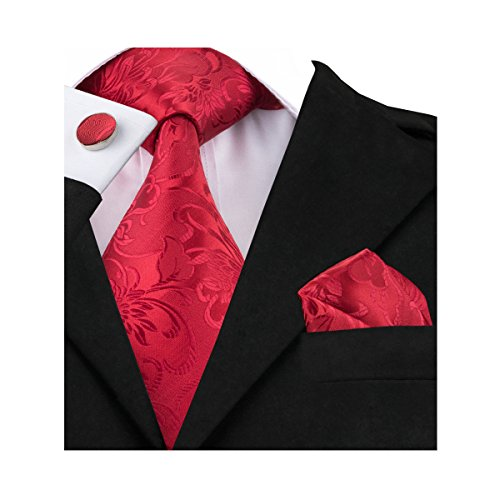 Handkerchief Mens Necktie Set - 6
