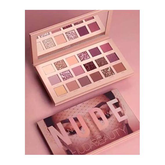 HUDA BEAUTY Topnotch Huda Beauty Nude Eyeshadow Palette (18 shades in 1 kit) with mirror