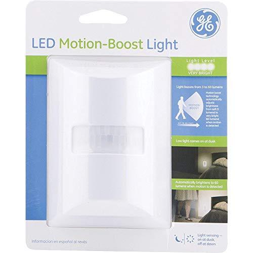 GE LED Motion Boost Light, White
