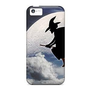 XiFu*MeiFor ipod touch 5 Premium Tpu Case Cover Halloween Witch Protective CaseXiFu*Mei