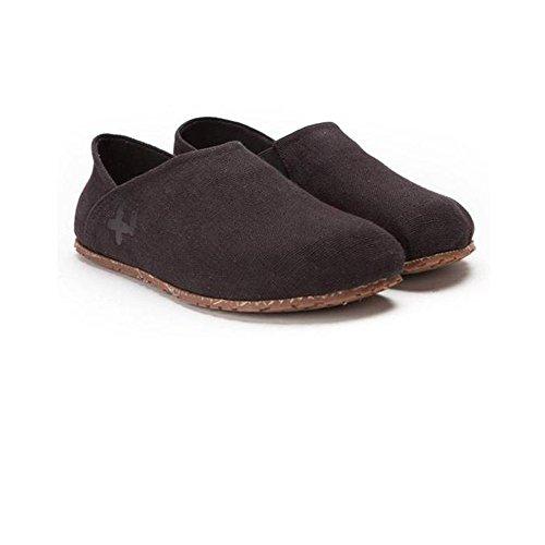 Zapatos Otz Alpargata Lino Hombre Negro