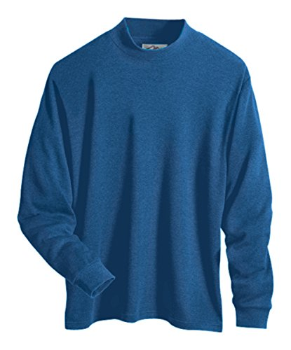 a6e0b5bf9d5d25 Alberto Cardinali Men's Mock Neck Sweater MC5 (3XLarge Royal) - Buy ...