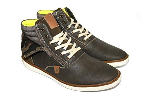 By Nero Uomo Sneaker Khaki Neki Black AwrAq6p