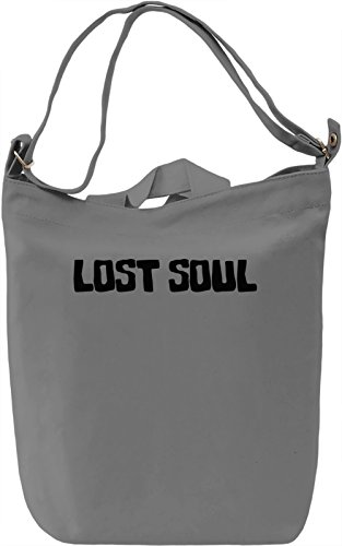 Lost soul Borsa Giornaliera Canvas Canvas Day Bag| 100% Premium Cotton Canvas| DTG Printing|