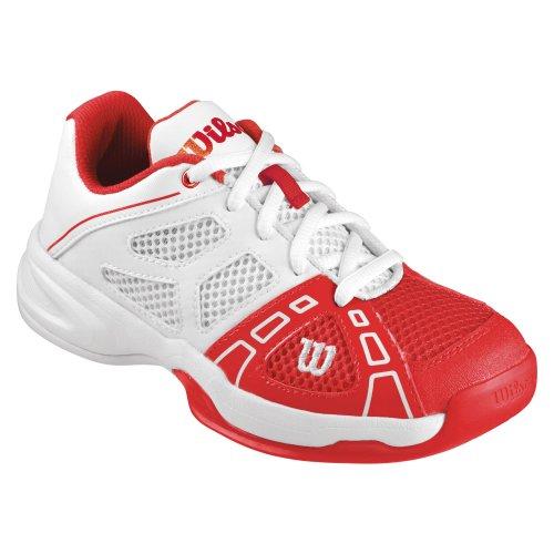 Wilson Rush Pro Junior 2 Tennisschuhe Kinder Rot Weiß