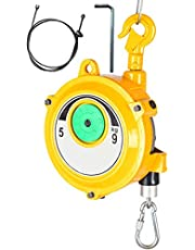 Multifunctional Retractable Spring Balancer with 1.5m Steel Wire Rope, Easy to Adjust Tension, No Gravity Suspension Equipment (1-3kg / 3-5kg / 5-9kg)