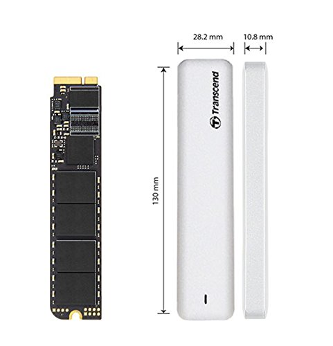 Transcend 240GB JetDrive 520 SATAIII 6Gb/s Solid State Drive Upgrade Kit for MacBook Air, Mid 2012 (TS240GJDM520) by Transcend (Image #7)
