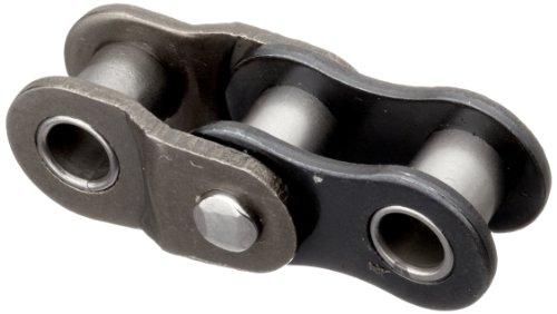 HKK RC025RHL1 ANSI 25 Single Strand Roller Offset Link, Double Pitch, Riveted, Carbon Steel, 1/4