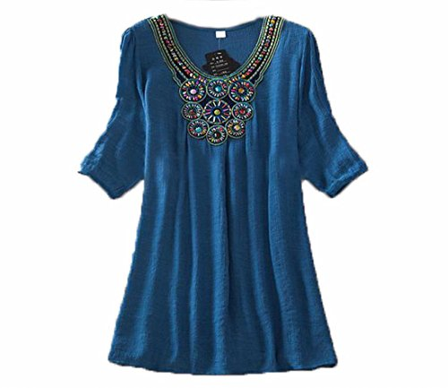 Generic Womens Round Neck Beading Embroidery product image