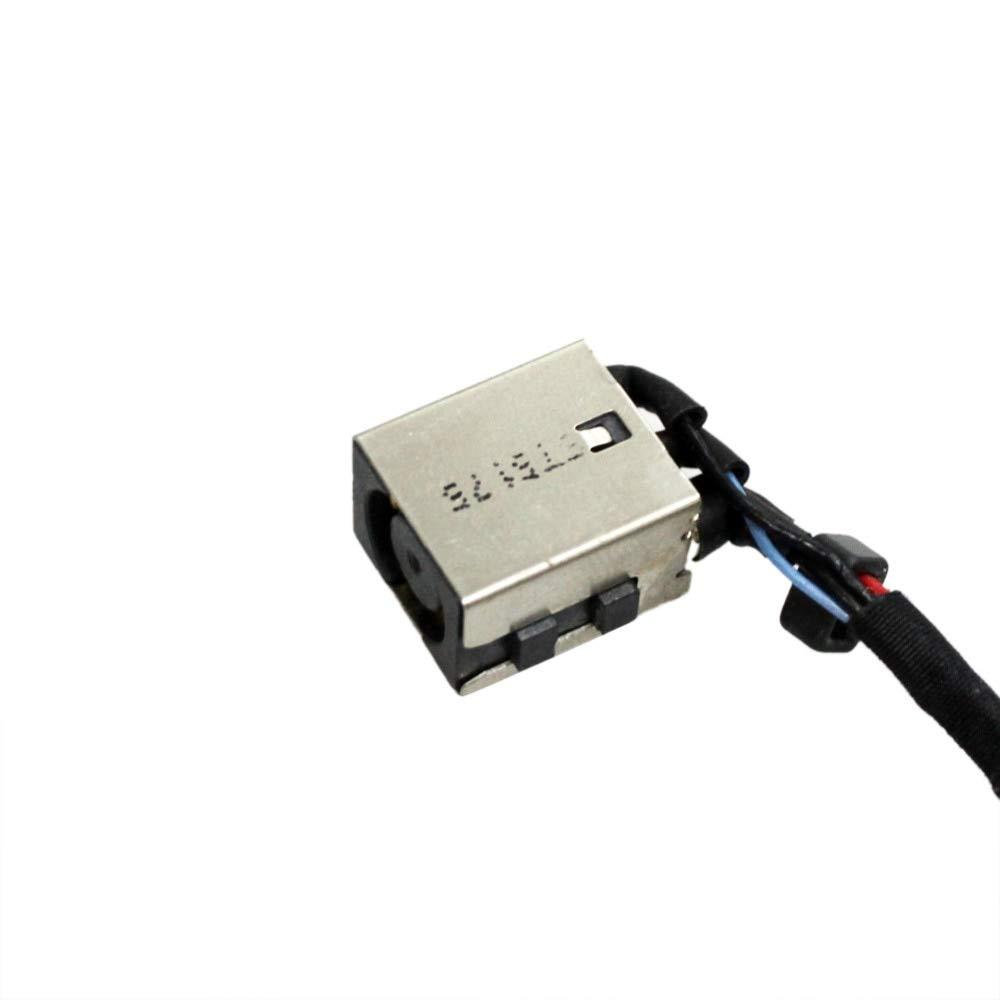 CN, Cable Length: 5PCS Computer Cables 10pcs//lot AC HNEW DC Power Jack Cable Harness for Dell Latitude E7270 E7470 DC