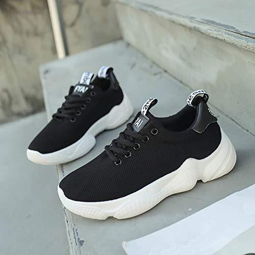 GongzhuMM Noir Course Gym EU Chaussures 36 Noir Athlétique Multisports Femme Basket Outdoor Blanc Casual de 39 EU Fitness Sports Sneakers Rose qrEqCAxw