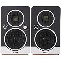 eve audio SC203 3寸两分频主从系统监听音箱(对装)