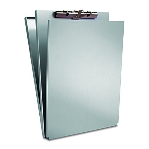 Saunders Recycled Aluminum A-Holder Form Holder – Letter Size Form Holder with Hinged Writing Plate. Office Supplies (Clipboard Aluminum Recycled)