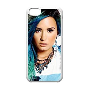 Demi Lovato Protective Case For iPhone 5c Cell Phone Case White