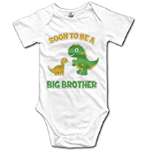 Cotton 100% Baby Onesie Unisex Bodysuits Baby Soon To Be A Big Brother