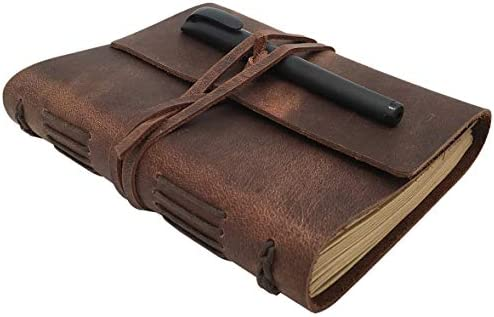 Leather Journal Notebook Handmade Sketchbook product image
