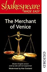 The Merchant of Venice: Original Text & Modern Verse (Shakespeare Made Easy Series)