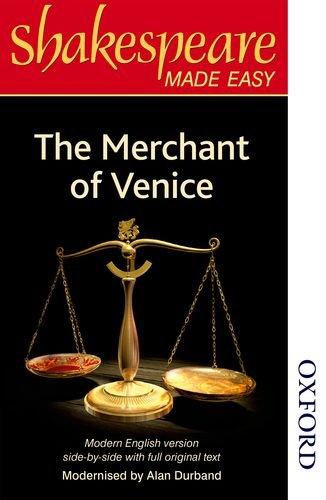 The Merchant of Venice: Original Text & Modern Verse (Shakespeare Made Easy Series)
