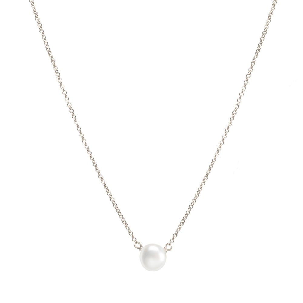 Dogeared Sterling Pearls of Good Luck Small Freshwater Cultured 16'' with 2'' Ext. Necklace