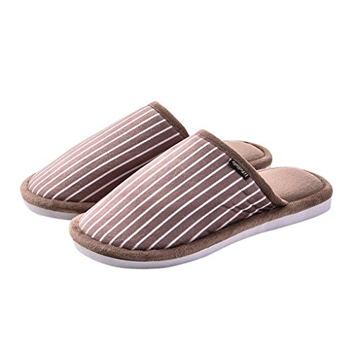Men's Slippers LightCoffee LemonGirl Slippers Women's and Non Warm House Thick Slip Comfort 77Ewq