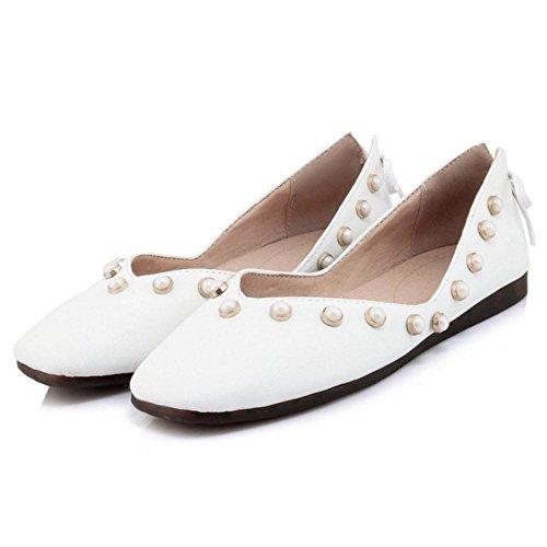 Ballet White Women Fashion KemeKiss Pumps SUOxwEIqq