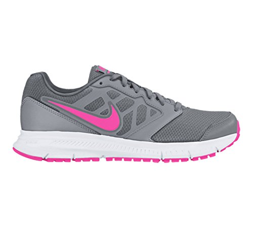 Nike Downshifter 6 Msl - Zapatillas para mujer STEALTH/PNK BLAST CL GRY WHITE