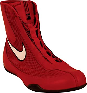 Nike Machomai Mid Boxing Shoes - Red White - 9.5  Amazon.ca  Sports    Outdoors 617e0a160