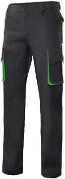 Velilla P1030040/2546 - Pantalon bicolor multibolsillo