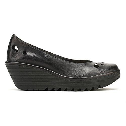 Fly Femmes Londres Colmar Chaussures Rouges Yern832fly Colmar Noir