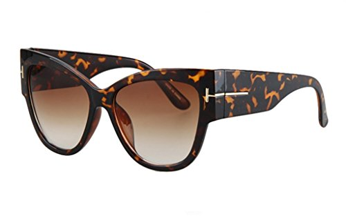 Personality Cateye Sunglasses Trendy Big Frame - Designer At Outlet York Shops
