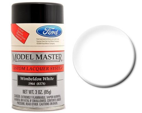 Testors Model Master Lacquer Spray Paint Wimbeldon White ()