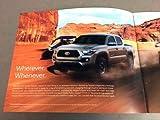 2019 Toyota Tacoma Truck 28-page Original Car Sales Brochure Catalog