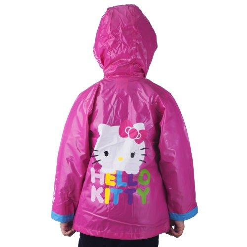 Sanrio Hello Kitty Girl's Pink Rain Coat - Sizes 2T 3T 4T