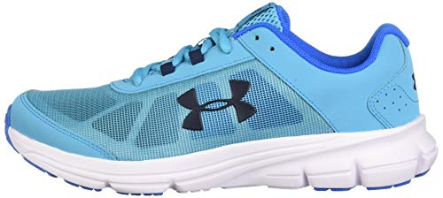 Under Armour Girls' Grade School Rave 2 Sneaker Alpine (301)/Blue Circuit 3.5 by Under Armour (Image #5)