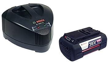 Bosch AL 3640 CV Li-ion cargador rápido + Bosch ...